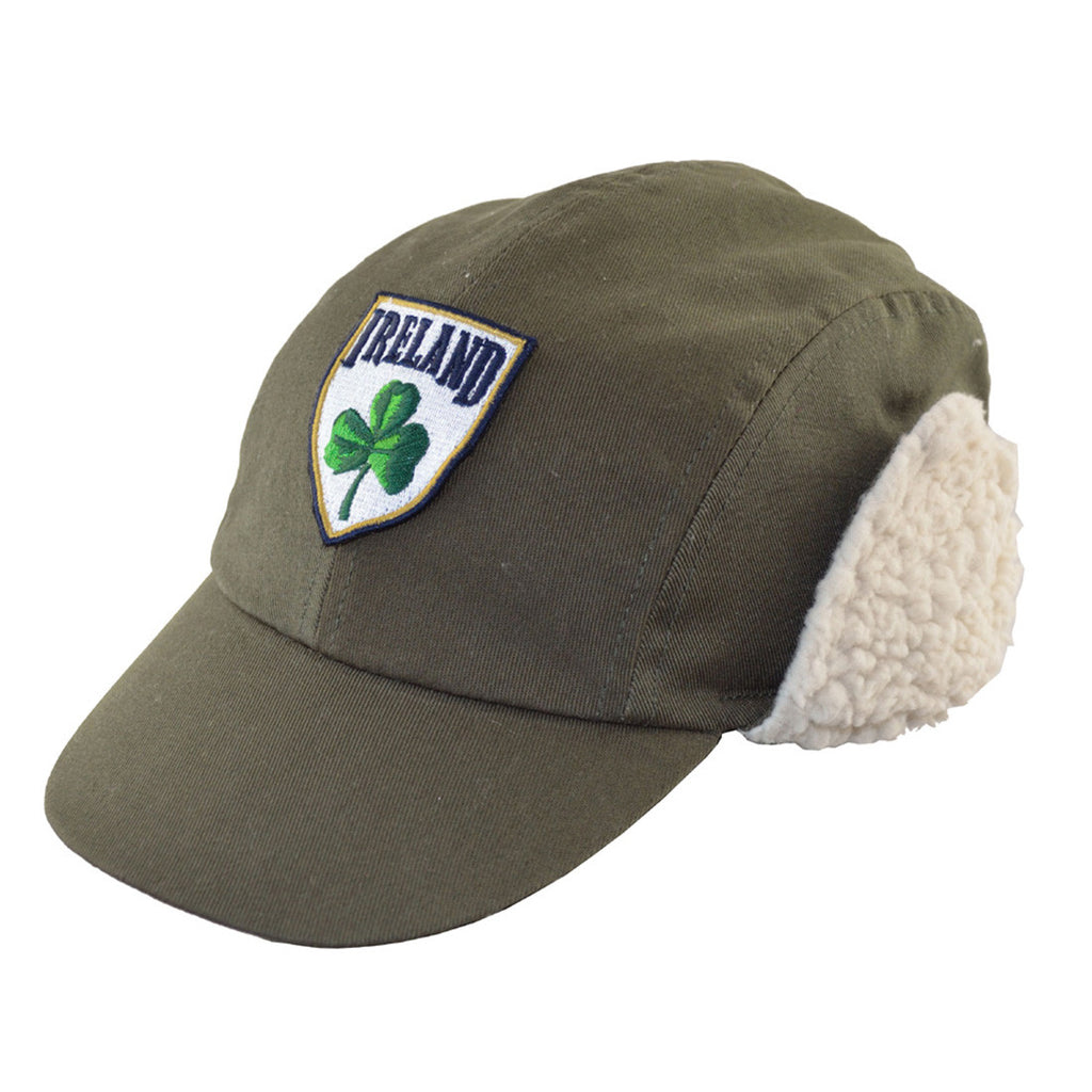 Kid's Ireland Hat with Flaps - Hibernian Gifts