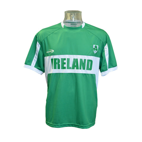 Men's Replica Style Ireland Lansdowne Rugby Jersey, Green Colour - Hibernian Gifts