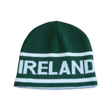 Reversible Ireland Beanie With Ireland Print - Hibernian Gifts - 2