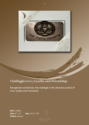 Wild Goose: Love, Friendship & Loyalty Claddagh - Hibernian Gifts - 1