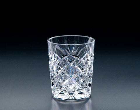 Heritage Irish Crystal: Cathedral 12oz DOF Tumbler - Hibernian Gifts