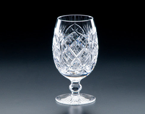 Heritage Irish Crystal:  Cathedral Footed Iced Beverage - Hibernian Gifts
