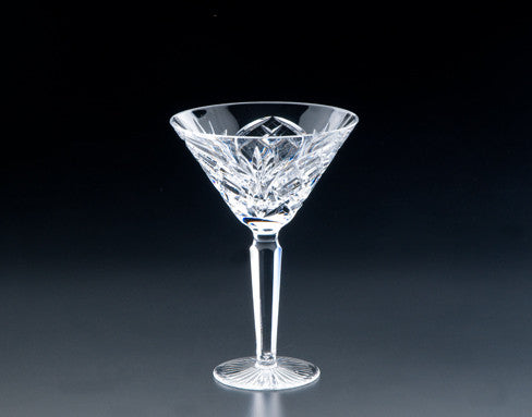 Heritage Irish Crystal:  Cathedral Martini - Hibernian Gifts