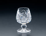 Heritage Irish Crystal:  Cathedral Small Brandy Glass - Hibernian Gifts