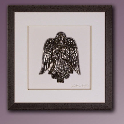 Wild Goose: Guardian Angel (brown frame) - Hibernian Gifts - 1