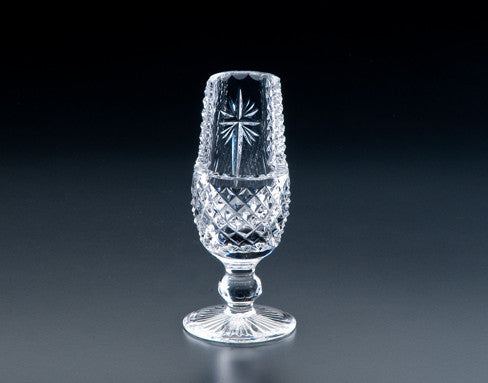 Heritage Irish Crystal:  Footed Holy Water Font - Hibernian Gifts
