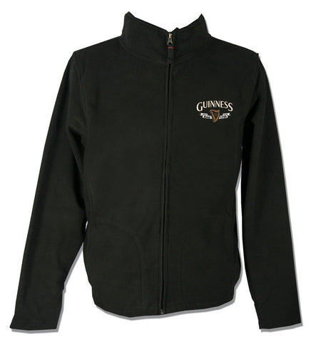 Guinness: Black Guinness Harp Fleece - Hibernian Gifts