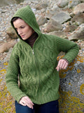 Westend Knitwear: Chunky Irish Cable Hoody