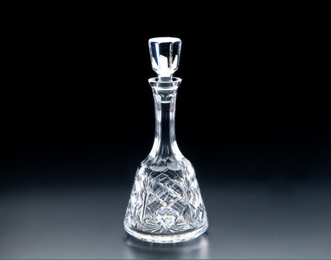 Heritage Irish Crystal:  Bell Decanter - Hibernian Gifts