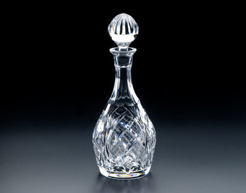 Heritage Irish Crystal:  Cathedral Brandy Decanter - Hibernian Gifts