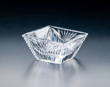 "Heritage Irish Crystal: Square Bowl 6"" - Hibernian Gifts"