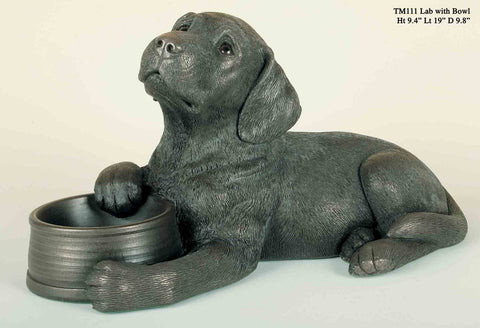 Genesis: Labrador with Bowl - Hibernian Gifts