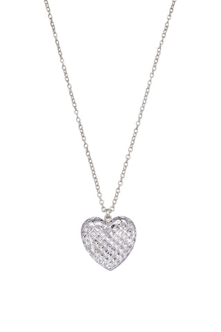 Criostal Jewellery: Heart (medium) - Hibernian Gifts