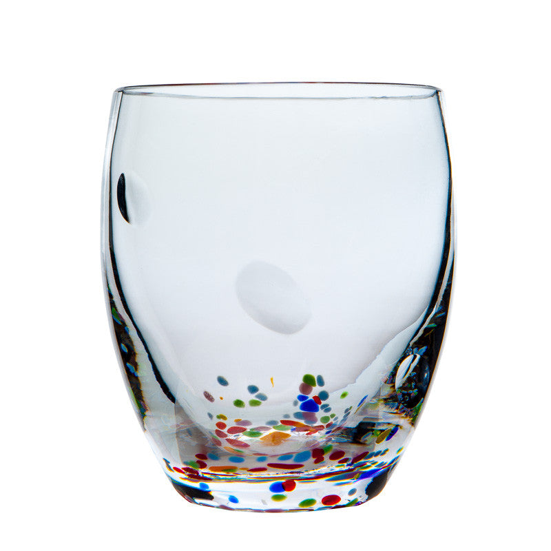 The Irish Handmade Glass Company: Wildflower Pair of Tumblers - Hibernian Gifts