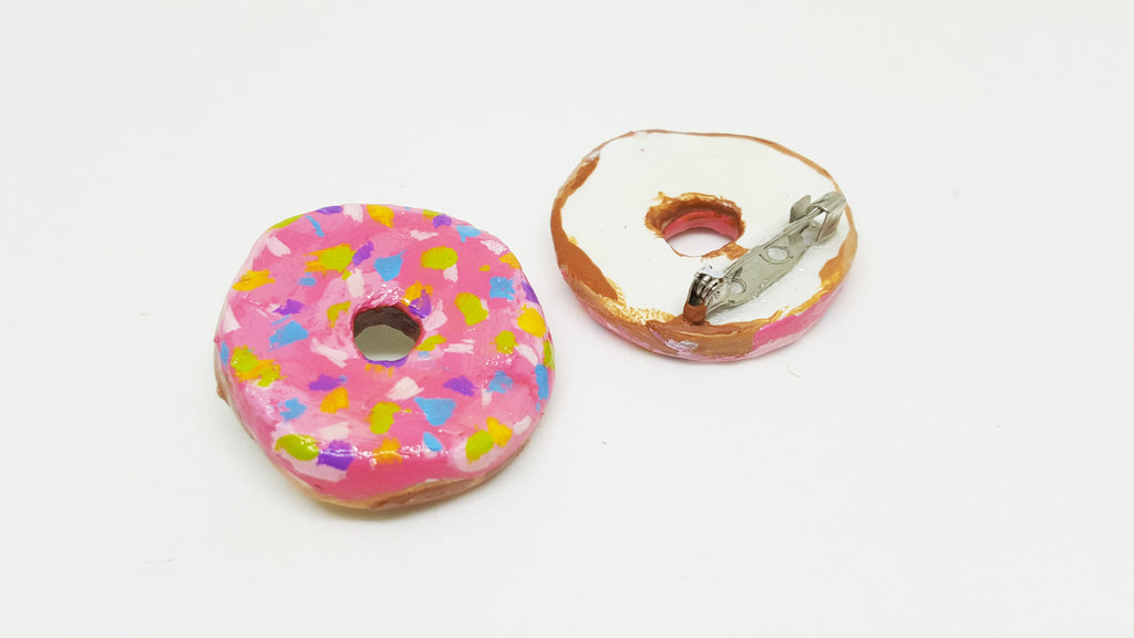 Donut Brooches