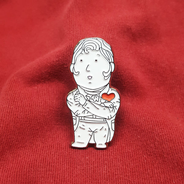 Ah Sir Enamel pin