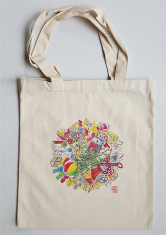 Childhood Games Tote Bag
