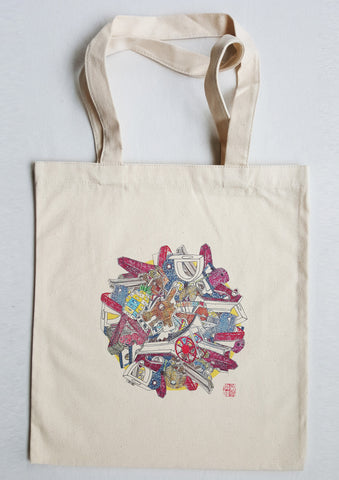 Childhood Playground Tote Bag