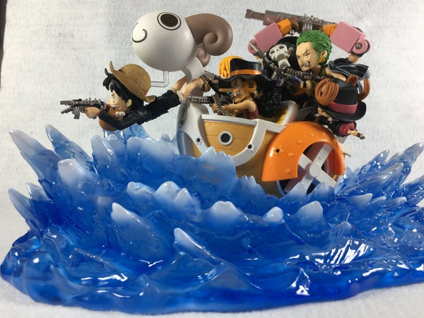 One Piece Zhe Men Water Wave Effect Accessory Set