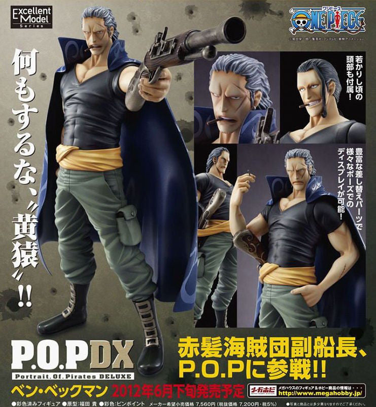 One Piece P.O.P Neo-DX Ben Beckman (First Release Ver.)