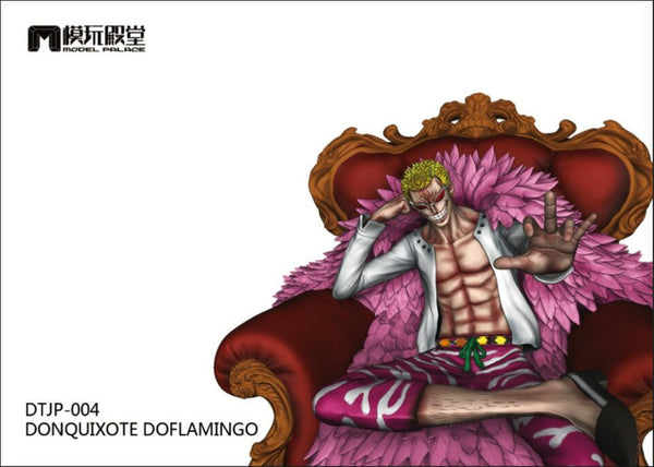 [Back Order] One Piece Model Palace DTJP-004 Donquixote Doflamingo Resin Statue
