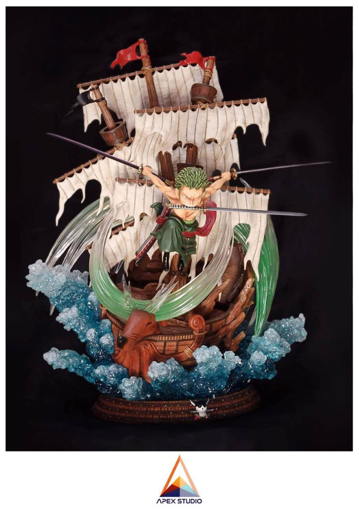 One Piece - League & Apex Studio - SD Roronoa Zoro Resin Statue