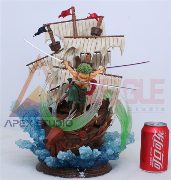 [PO] One Piece - League & Apex Studio - SD Roronoa Zoro Resin Statue