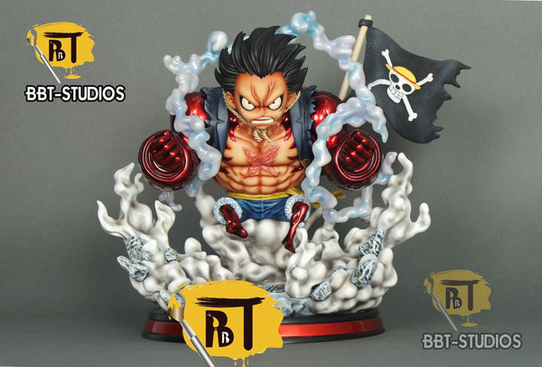 One Piece BBT Studios SD0019 Monkey D. Luffy Gear 4 Double Luffy Resin Statue