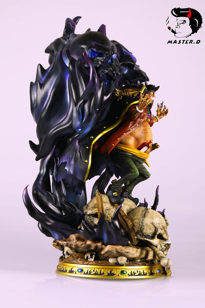 [PO] One Piece - BP Studio & Master. D Studio - Shichibukai Blackbeard Marshall D. Teach Resin Statue