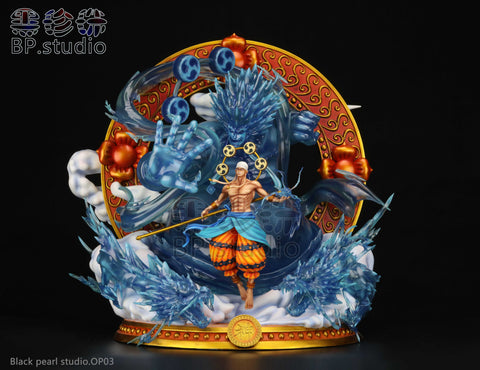 [Back Order] One Piece - BP Studio - OP03 God Enel Resin Statue