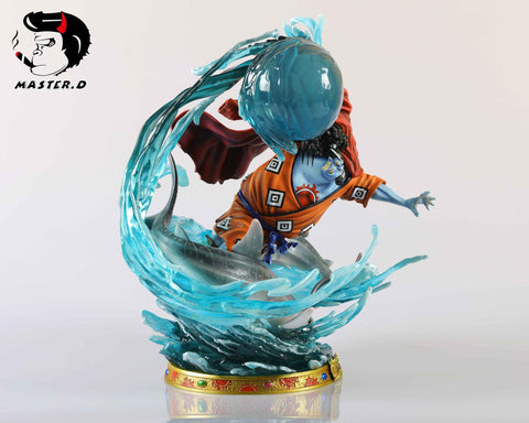 [PO] One Piece BP Studio and Master. D Studio Shichibukai Jinbe Resin Statue