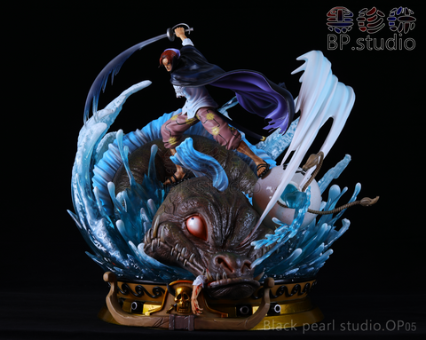[Back Order] One Piece BP Studio OP05 Red Hair Shanks Version 1 Resin Statue
