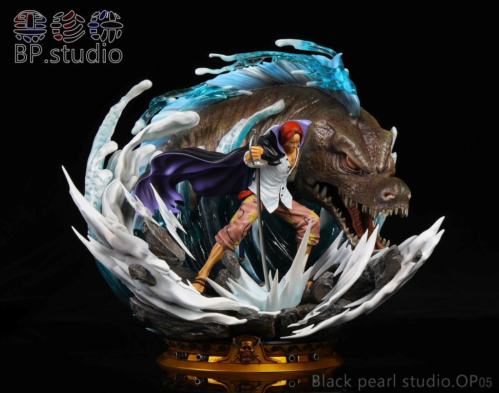 One Piece BP Studio OP05 Red Hair Shanks Version 2 Resin Statue