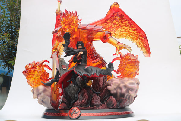 Naruto Shippuden - Cartoon World Studios - Uchiha Itachi with Perfect Susanoo Resin Statue