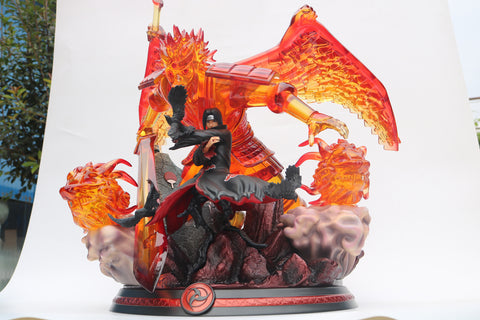 [PO] Naruto Shippuden - Cartoon World Studios - Uchiha Itachi with Perfect Susanoo Resin Statue