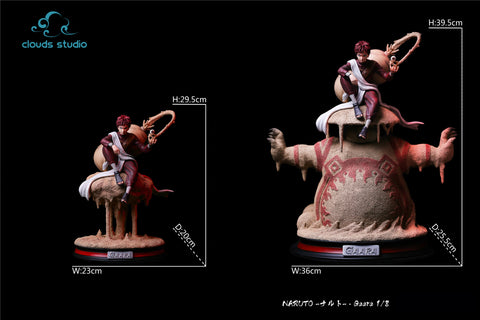 [PO] Naruto Shippuden - Clouds Studio - 'Shield of Shukaku' Gaara Resin Statue