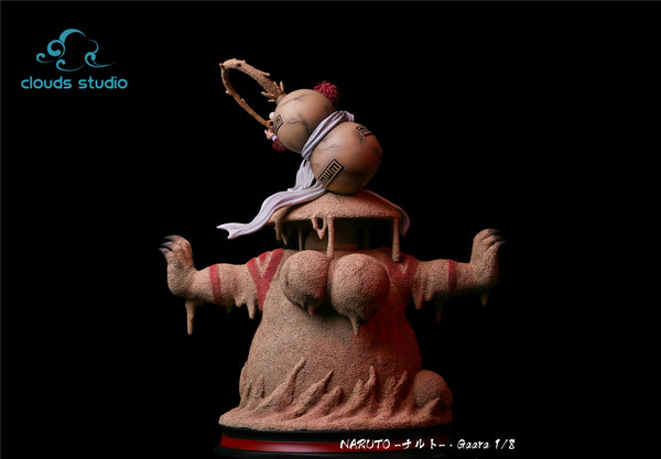 [Back Order] Naruto Shippuden - Clouds Studio - 'Shield of Shukaku' Gaara Resin Statue