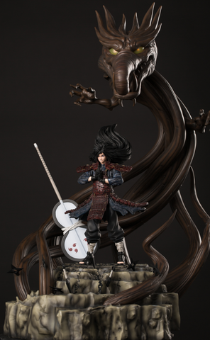 Naruto Shippuden D Studio Wood Dragon Madara Resin Statue