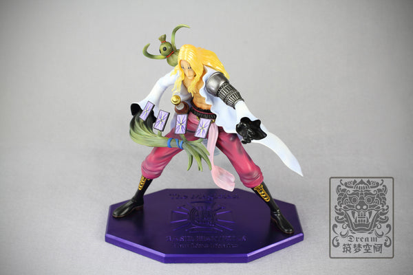 One Piece Dream Studio SP-003 Basil Hawkins Resin Statue
