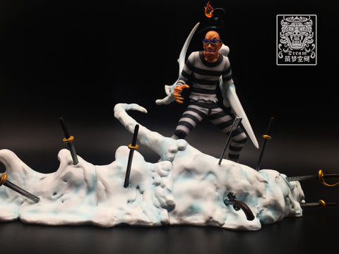[PO] One Piece Dream SP-004 Mr. 3 Galdino Impel Down Ver. Resin Statue