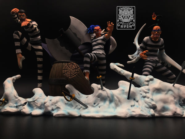 One Piece Dream SP-002 Buggy Impel Down Ver. Resin Statue