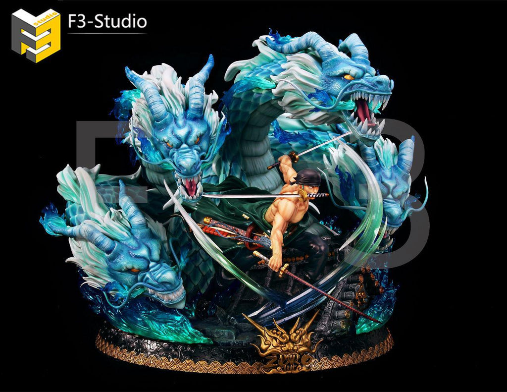 [PO] One Piece - F3 Studio - F3-DX-03 Roronoa Zoro Resin Statue