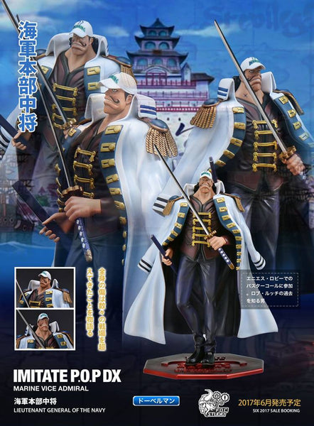 One Piece F.O.C Marine Vice Admiral Doberman Resin Figure