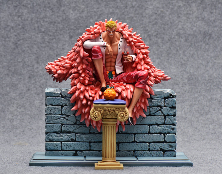 One Piece - FOC Studio - Donquixote Doflamingo Resin Statue