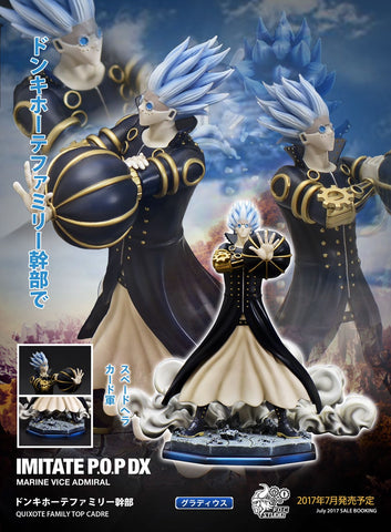 One Piece F.O.C Donquixote Family Gladius Resin Statue