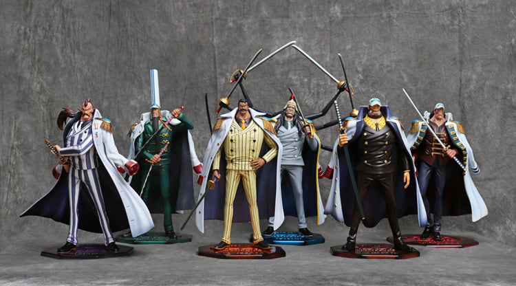 One Piece - FOC Studio - Marine Vice Admiral Doberman ...