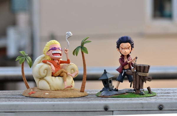 One Piece - FOC Studio - Childhood Young Donquixote Doflamingo Resin Statue