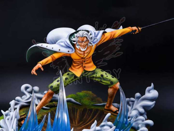 [PO] One Piece - Fantasy Studio & Model Stars - Battle Series Sabaody Archipelago Arc Borsalino Kizaru vs Silvers Rayleigh Resin Statue (Part 2 - Silvers Rayleigh)