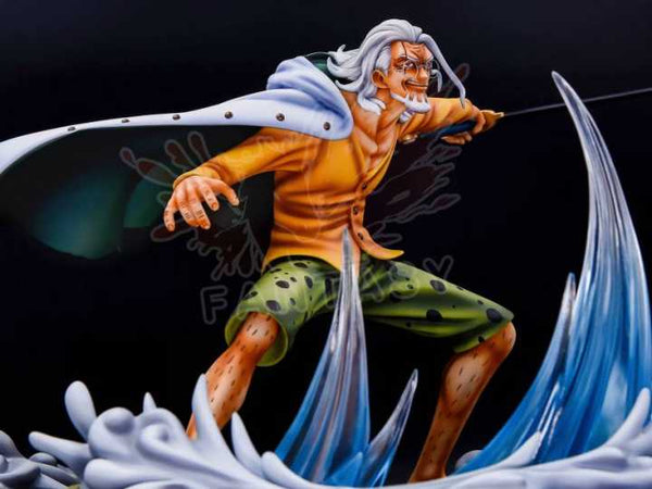 One Piece - Fantasy Studio & Model Stars - Battle Series Sabaody Archipelago Arc Borsalino Kizaru vs Silvers Rayleigh Resin Statue (Part 2 - Silvers Rayleigh)
