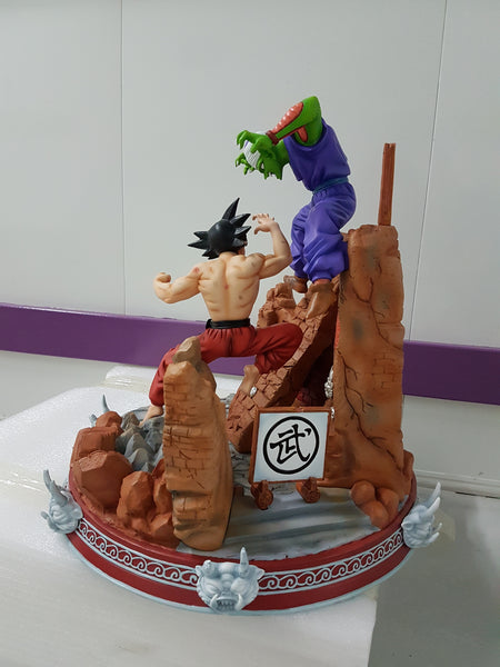 Dragon Ball GEL Son Goku VS Piccolo Resin Statue